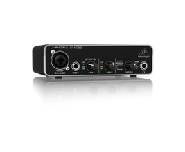 Behringer UMC22 Interface de Áudio USB 2.0
