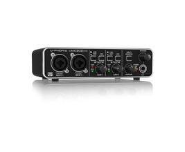Behringer UMC202HD Interface de Áudio USB MIDI