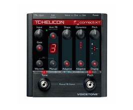 TC Helicon VOICETONE CORRECT XT Pedal para vocal/voz