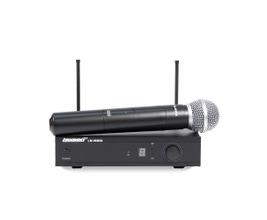 Lexsen LM-WM58 Microfone sem fio UHF