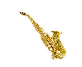 Benson BSSC-1L Sax Soprano Curvo em Bb Laqueado