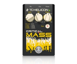 TC Helicon Critical Mass Pedal para vocal/voz