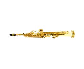 Benson BSSR-1L Sax Soprano Reto em Bb Laqueado