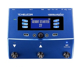 TC Helicon Voicelive Play Pedal para vocal/voz