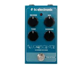 TC Electronic FLUORESCENCE SHIMMER REVERB Pedal para guitarra/baixo