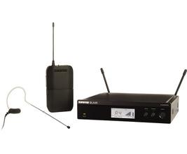 Shure BLX14RBR/MX53-J10 Microfone sem Fio Headset Auricular MX153 bege