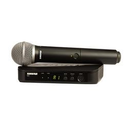 Shure BLX24BR/PG58-M15 Microfone sem Fio PG58 para Vocais