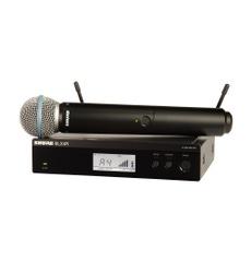 Shure BLX24RBR/B58-M15 Microfone sem Fio B58 para Vocais padrão Rack
