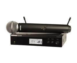 Shure BLX24RBR/SM58-M15 Microfone sem Fio SM58 para Vocais padrão Rack
