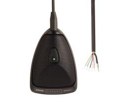 Shure MX392/C Microfone Condensador Superfície para Mesas de Reunião