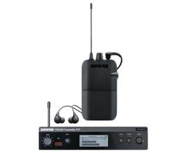 Shure P3TBRR112GR-K12 Sistema de monitoramento In-Ear sem fio PSM300 com fone SE112-GR
