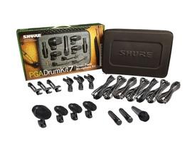 Shure PGADRUMKIT7 Kit PGA de Microfone para Bateria com 7 peças