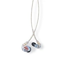 Shure SE535-CL Fone de ouvido Profissional de Monitoramento In-Ear com 3 Microdrivers Dinâmico