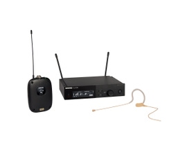 Shure SLXD14/153T-G58 Microfone sem Fio com bodypack e Headset MX153T bege