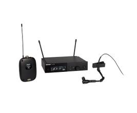 Shure SLXD14/98H-G58 Microfone sem Fio para Instrumentos com Bodypack e BETA98/h