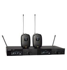 Shure SLXD14D-G58 Microfone sem Fio duplo com 2 Bodypack