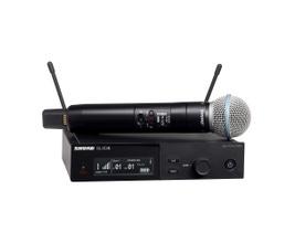 Shure SLXD24/B58-G58 Microfone sem Fio Dinâmico Cardióide BETA58A