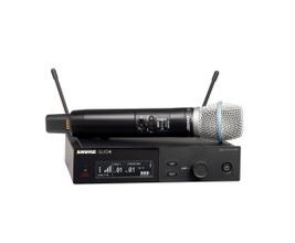 Shure SLXD24/B87A-G58 Microfone sem Fio Condensador Supercardióide BETA87A