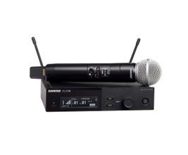 Shure SLXD24/SM58-G58 Microfone sem Fio Dinâmico Cardióide SM58 para Vocais