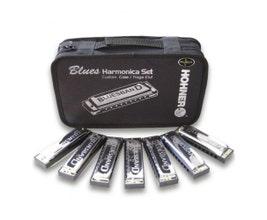 Hohner Kit Blues c/7 Harmônicas (C, D, E, F, G, A, BB)