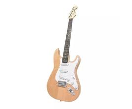 Benson PRISTINE-N Guitarra Stratocaster Natural em Carvalho Sólido