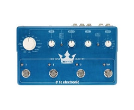 TC Electronic FLASHBACK TRIPLE DELAY Pedal para guitarra/baixo