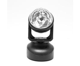 PLS Astromove Bola mágica de LED com suporte