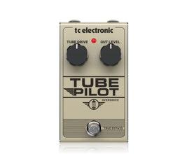 TC Electronic TUBE PILOT OVERDRIVE Pedal para guitarra/baixo