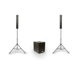 DBR Caixa de Som DVA1200 Sistema 2.1 de 700W RMS com Bluetooth