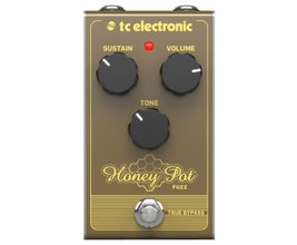 TC Electronic Honey Pot Fuzz Pedal para guitarra/baixo