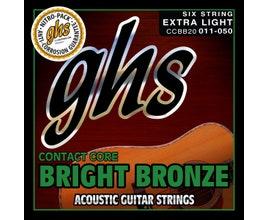 GHS CCBB20 Cordas para violão aço