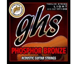 GHS 615 Cordas para violão 12 cordas