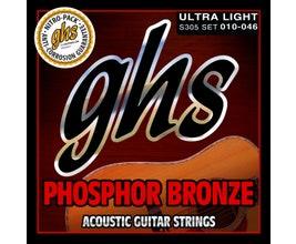 GHS S305 Cordas para violão aço