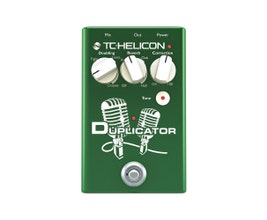 TC Helicon DUPLICATOR Pedal para vocal/voz