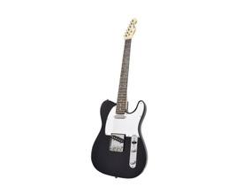 Benson NEMESIS-BK Guitarra Telecaster Preta em Carvalho Sólido
