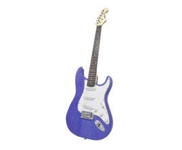 Benson PRISTINE-BL Guitarra Stratocaster Azul em Carvalho Sólido