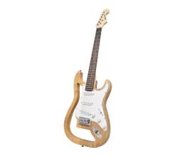 Benson GHOST-N Guitarra Stratocaster Natural em Carvalho Sólido