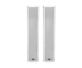 Lexsen LCA83-WH Par de colunas de som ambiente passiva