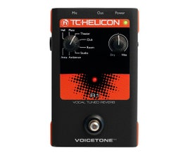 TC Helicon VOICE TONE R1 Pedal para vocal/voz
