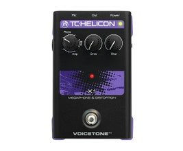 TC Helicon VOICETONE X1 Pedal para vocal/voz