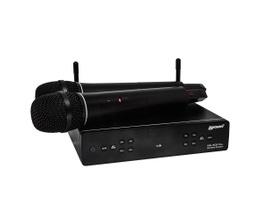 Lexsen XSL-502 PLL Microfone sem Fio UHF Multifrequência com dois bastões