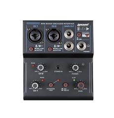 Lexsen GOMIX2 Mesa de Som com Interface de Gravação USB e Bluetooth