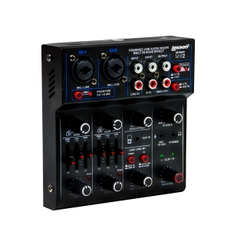 Lexsen STREAM MIX 1 Mesa de Som com Interface de Gravação USB e Bluetooth