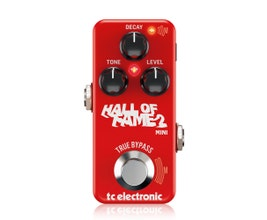 TC Electronic Hall of Fame 2 Mini Reverb Pedal Reverb