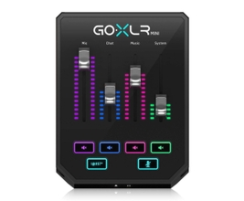TC Helicon GO XLR Mini Processador Vocal Multi efeitos