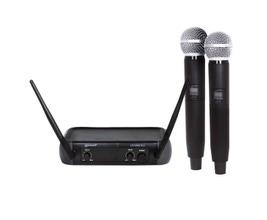 Lexsen LM-258U-PLL Microfone UHF PLL 2 bastões