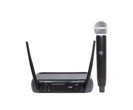 Lexsen LM-58U PLL Microfone sem fio UHF PLL com 1 canal Bivolt