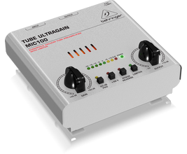 Behringer MIC100 Pré Amplificador Valvulado para Microfone