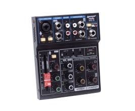 Lexsen Studio Mix 5 Mesa de Som 5 canais com Interface e Bluetooth
