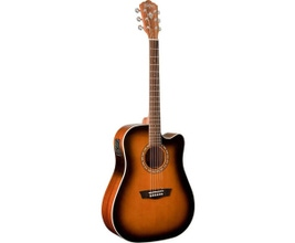 Washburn WD7SCEATB Guitarra Dreadnought